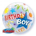 22 Inch Birthday Boy Party Hat Bubble
