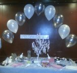 Cake Table Pearl Arch