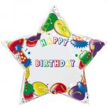 36 Inch Birthday Party Number And Name Foil