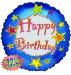 "Happy Birthday Star fun 18"" Foil"