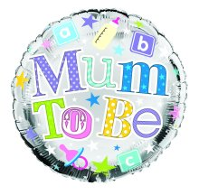 Mum To Be foil balloon