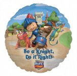 "Mike the Knight 18"" foil balloon"