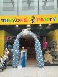 Frozen Inspired Balloon Arch