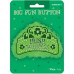 Big Fun Button Badge - Irish Princess