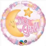 "It's a Girl! 18"" Foil Balloon"