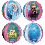 Orbz 4 sided Frozen Foil Balloon
