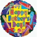 "Tool Happy Fathers Day 18"" Foil"