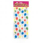 Festive Balloons Cello Bags - 20 pack