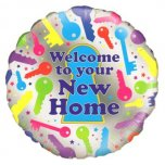 18 Inch Welcome To Your New Home Foil