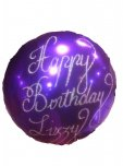 Personalised Foil Balloon Flat (uninflated)