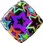 "Stars Accent Patterns 18"" Foil"