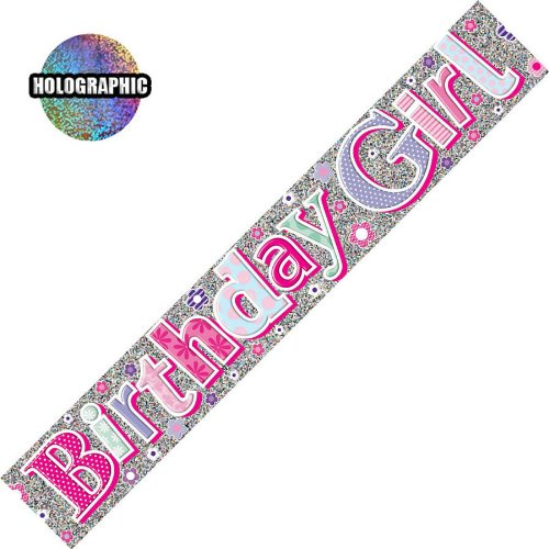 birthday girl banner 5050933194715 1 25 toyzone 2 party