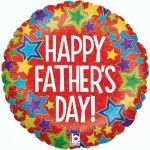 "Happy Fathers Day! 18"" Foil Balloon"
